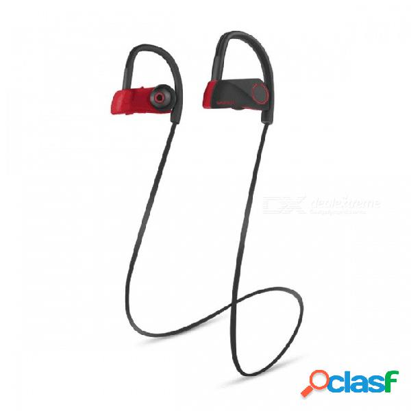Bluetooth 4.1 auricular estéreo inalámbrico deportes auriculares música auriculares manos libres a prueba de sudor earhook bluetooth auriculares negro