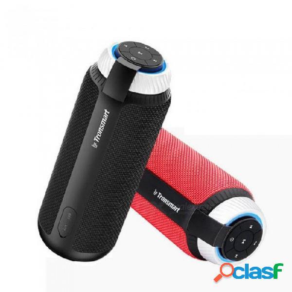 Elemento t6 mini altavoz bluetooth altavoz inalámbrico portátil con sonido estéreo de 360 grados para ios android xiaomi player rojo