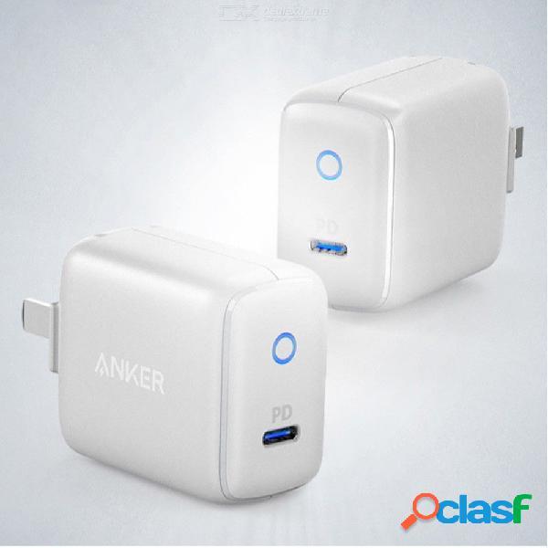Anker pd 8w 2.4a cargador de viaje rápido, mini cargador de teléfono portátil para iphone / samsung / xiaomi / huawei