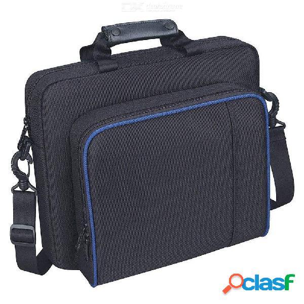 Bolsa protectora impermeable de nylon para el estuche de transporte ps4 para play station 4 y accesorios