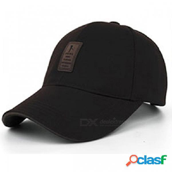 Joymay alta calidad a estrenar gorra de béisbol con cap snapback casquillo equipado sombreros para hombres y mujeres b253 café