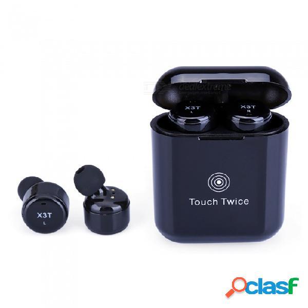 Aplique auriculares inalámbricos con control táctil auriculares bluetooth auriculares inalámbricos reales con caja de carga de micrófono