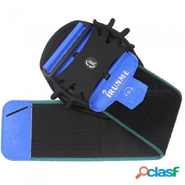 Brazo banda running equitación brazo banda caso impermeable al aire libre muñeca bolsa deporte teléfono móvil titular para iphone caso negro
