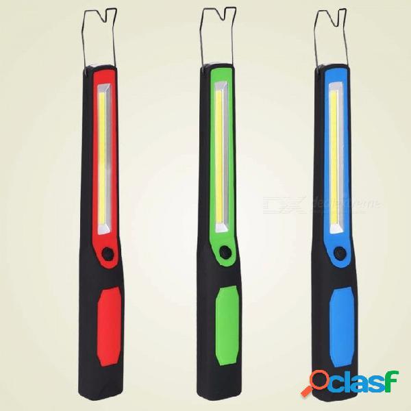 Luces de trabajo led cob multifunción usb recargables linterna de emergencia al aire libre reparación de automóviles luz 3w