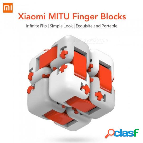 Xiaomi mitu cube spinner finger bricks portable smart finger toys intelligence toys for xiaomi smart home gift anti-stress toy