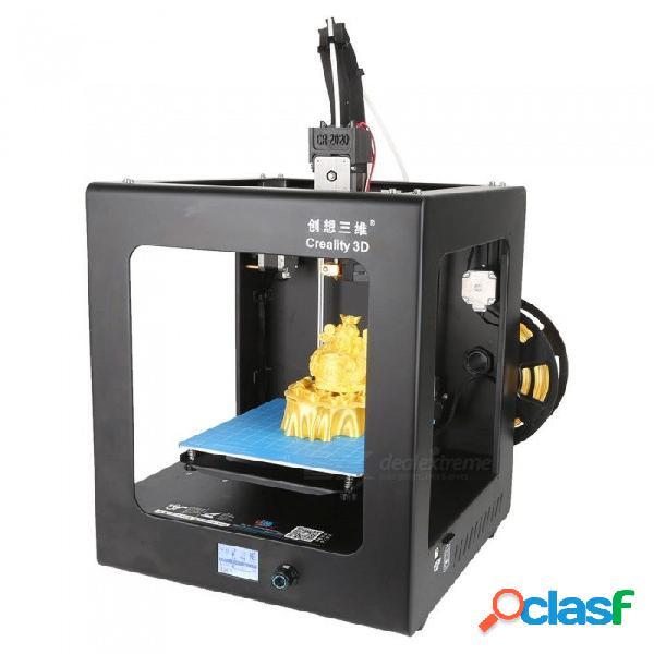 Impresora de alta precisión en 3d de nivelación automática de personas de educación cr-2020 completamente ensamblada 3d - negro