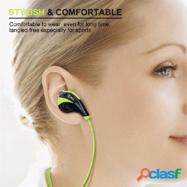 G6 bluetooth v4.0 auriculares deportivos, auriculares inalámbricos bluetooth de manos libres, auriculares deportivos bluetooth en la oreja