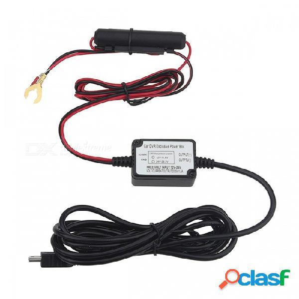 Cable de cableado viofo 0801 a119 a119s a118 a118c a118c2 b40 cámara de automóvil dvr kit de cable duro fusible de cable mini grabadora usb fusible de cableado