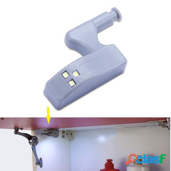 Luz del sensor de la noche de la bisagra del gabinete del led para la lámpara de la puerta del armario del armario del dormitorio de la sala de estar de la cocina