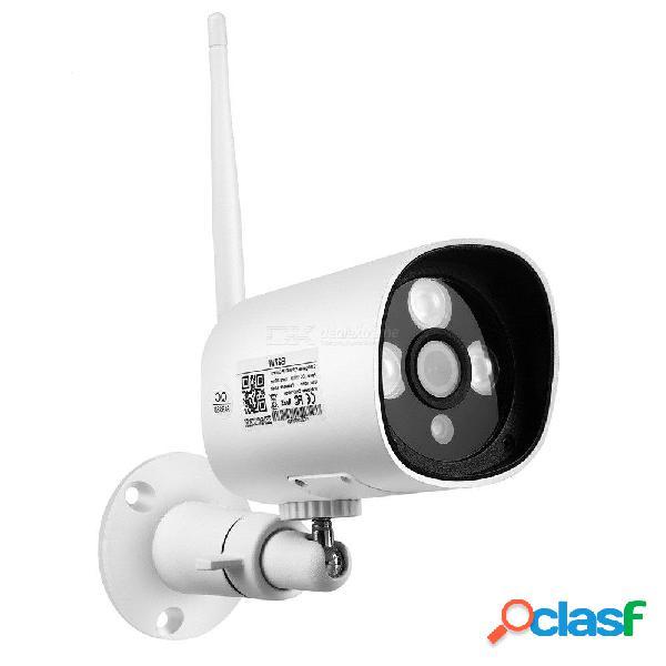 Vigilancia en el hogar hd impermeable al aire libre cctv cámara ip ir led correo electrónico alerta de visión nocturna con antena