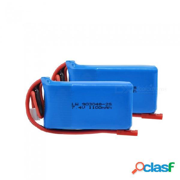 7.4v lipo drone batteria wltoys a949 a959 a969 a979 k929 1100 mah lipo batería 2s para wltoys a959 rc helicóptero avión coche barco
