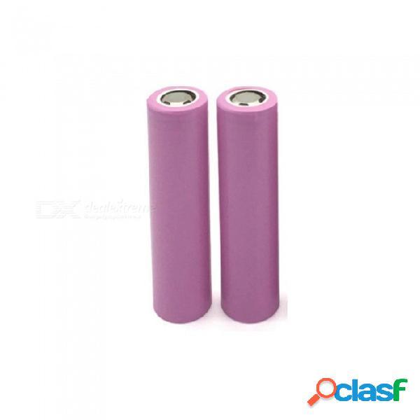 3.7v 2200 mah original 18650 batería de litio recargable para icr18650-26f icr18650 26f 2200 mah batería para enviar la caja de la batería