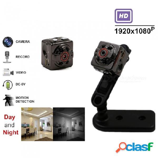 Esamact video hd completo 1080p dv dvr videocámara mini cámara sq8 micro cam detección de movimiento con visión nocturna por infrarrojos