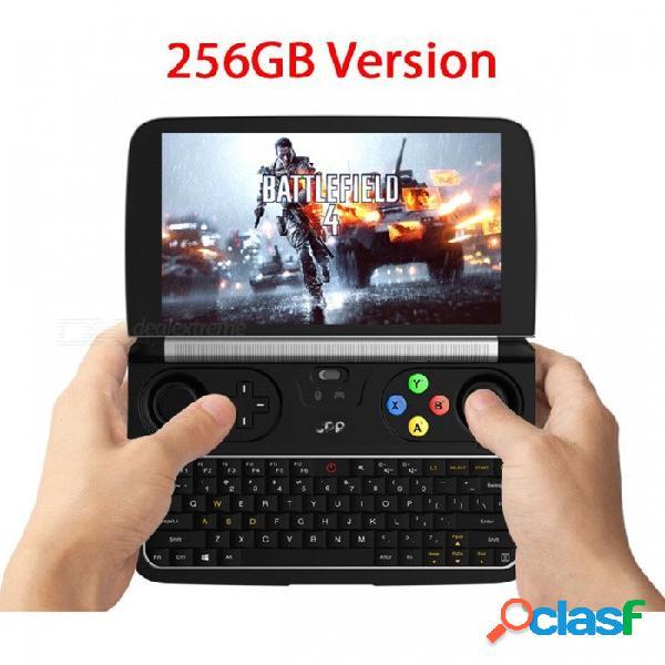 Gpd win2 8gb + 256gb portátiles mini 6 pulgadas windows 10 con pantalla táctil micro hdmi puerto portátil portátil negro