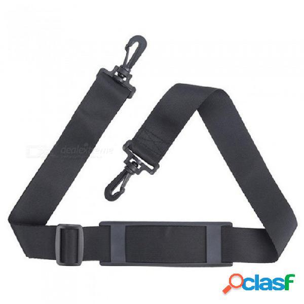 Viaje ajustable caña de pescar correa para el hombro correa para la correa correa para engranajes aparejos 1200 * 38 cm con color negro negro