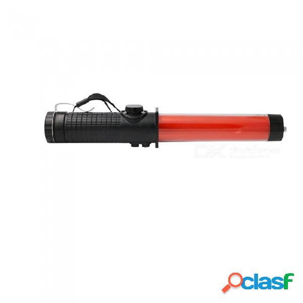 Zhishunjia lámpara de señal de rescate de voz, luz de emergencia intermitente de emergencia al aire libre luz roja intermitente sos linterna