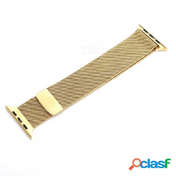 Correa de reloj de apple 38/40 mm serie 1/2/3 correa de acero inoxidable correa de reloj de pulsera pulsera de repuesto