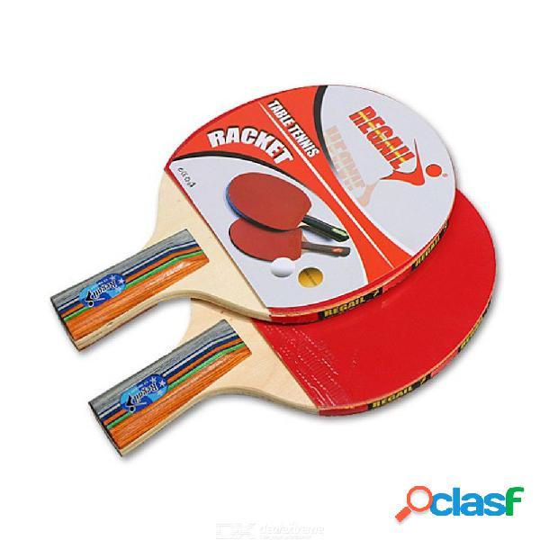 Raqueta de ping pong entrenamiento para principiantes raquetas de tenis de mesa juego de dos parejas