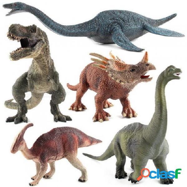 Acción amp figuras de juguete jurásico tiranosaurio dragón dinosaurio juguetes de plástico muñecas de colección de animales modelo de juguete juguete regalo