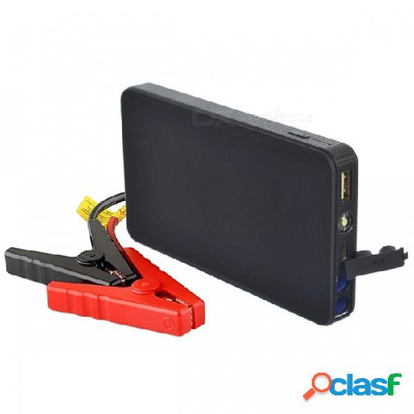 Lunda nuevo mini portátil 12v arrancador del salto de la batería del coche, banco de la energía del motor del puente automático con el arranque hasta 2.0l