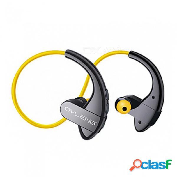 Nano impermeable bluetooth 4.2 auriculares, reducción de ruido estéreo deportes tapones para los oídos