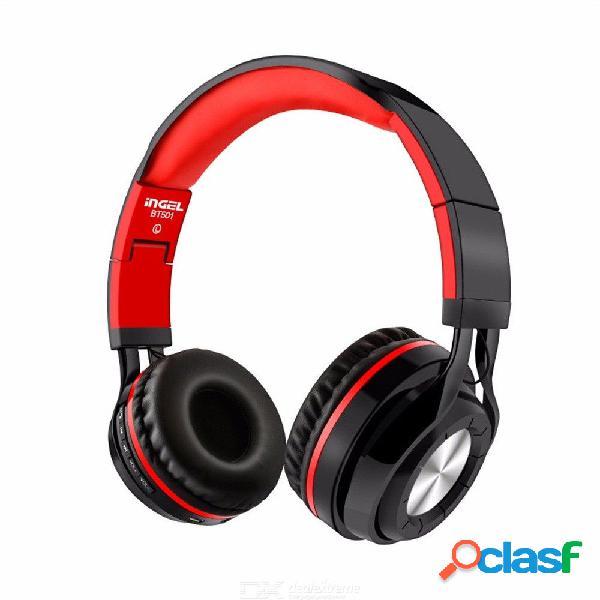 Auricular inalámbrico con cancelación de ruido en la oreja del auricular bluetooth con controlador de 40mm