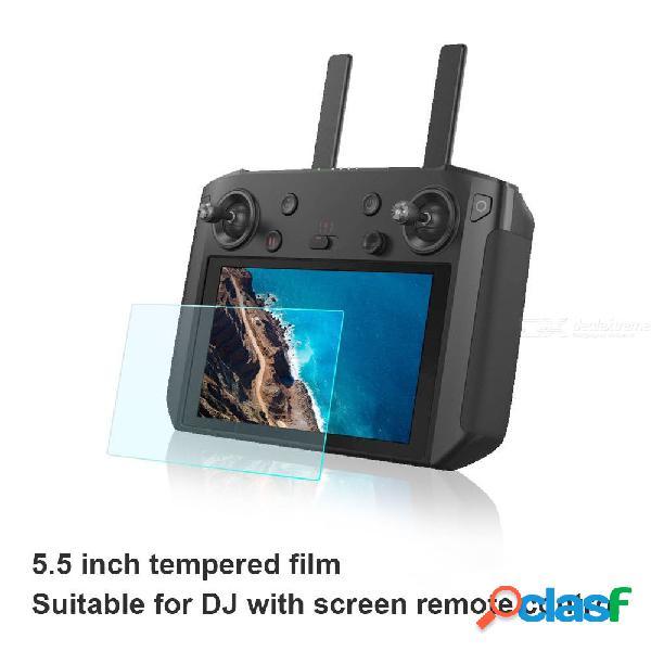 La película del controlador de 5,5 pulgadas refuerza la película de vidrio templado para sunnylife mavic 2 controlador de zoom