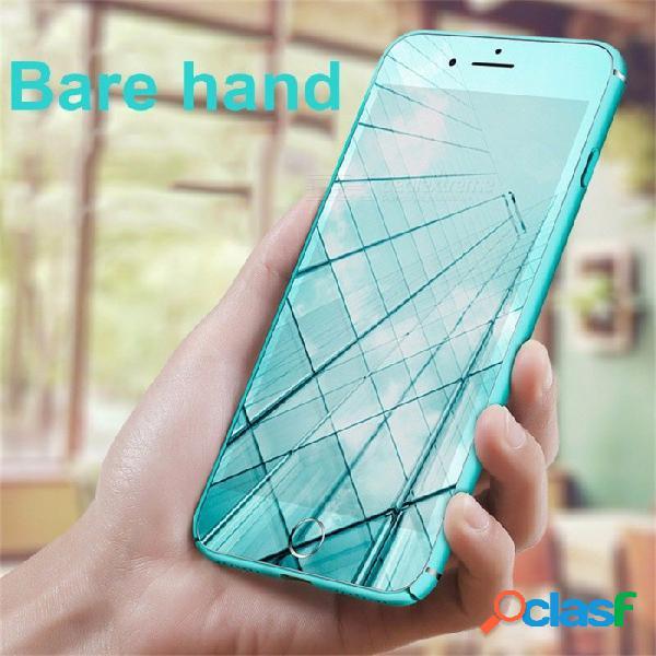 Tapa trasera ultra delgada cubierta de tpu esmerilada de color sólido, caja del teléfono para el protector de pantalla iphone 7/8 / iphone7 / 8 plus / case