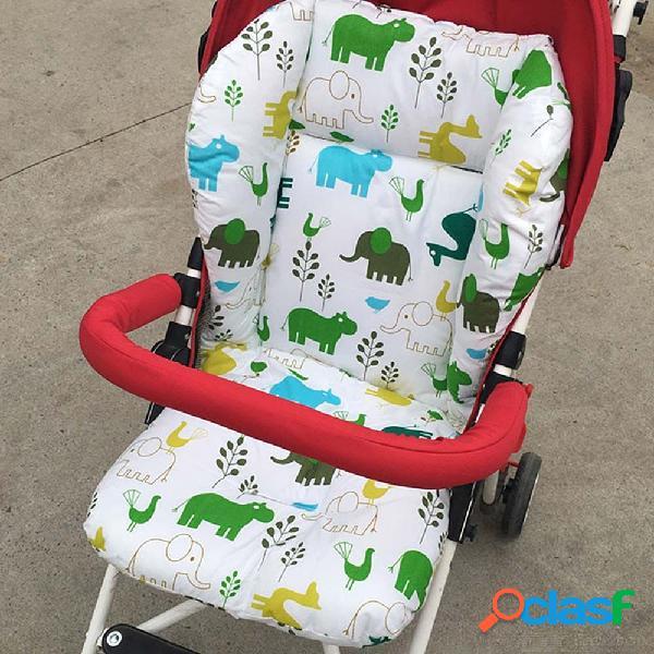 Cojín lindo del dibujo animado del trazador de líneas del asiento del cochecito de bebé para la trona 75 x 40cm del coche
