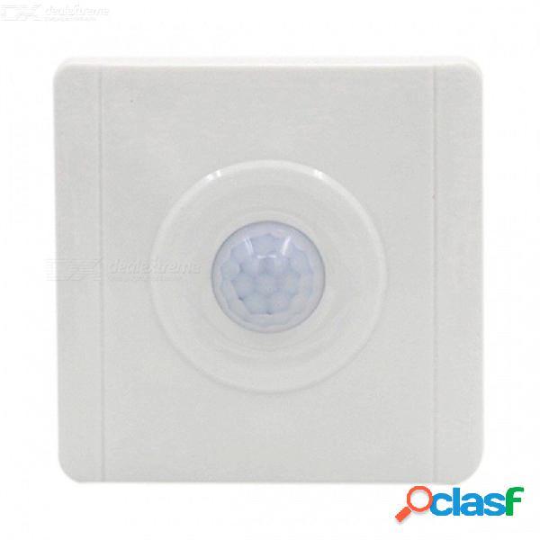 Sensor de movimiento pir interruptor de luz interruptor de detección de ocupación inteligente para lámpara de infrarrojos