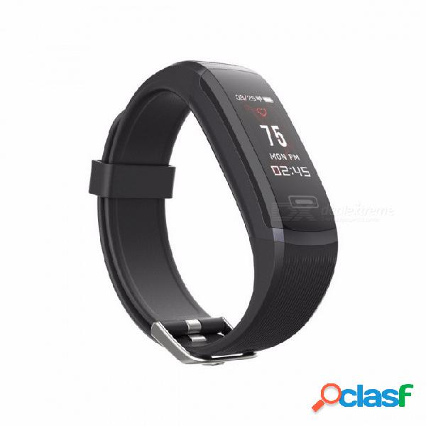 Banda 5 pulsera inteligente pulsera monitor de ritmo cardíaco pulsera deportiva rastreador de fitness inalámbrico smartband para ios android negro