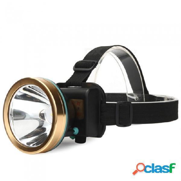 Luz recargable led para exteriores, de largo alcance, resplandor, batería de litio incorporada, lámpara de linterna, luz de noche de trabajo, blanco / negro