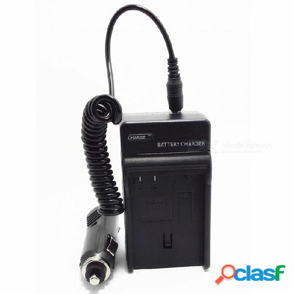 Cargador de batería en-el15 con cargador de coche para nikon d7000 (clavija de 100 ~ 240v / clavija plana)