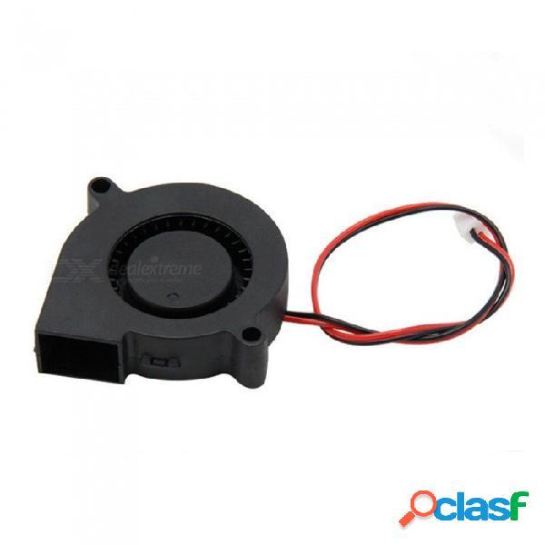 Zhaoyao 5015 50 * 50 * 15 mm 12 v 0.23a ventilador ventilador de refrigeración para 3d accesorios de bricolaje