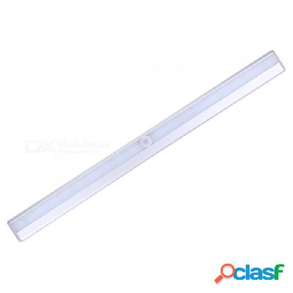 20-led luz recargable del gabinete del usb, lámpara del sensor del cuerpo del movimiento de pir, luz nocturna de la noche del sensor infrarrojo humano portátil de la inducción