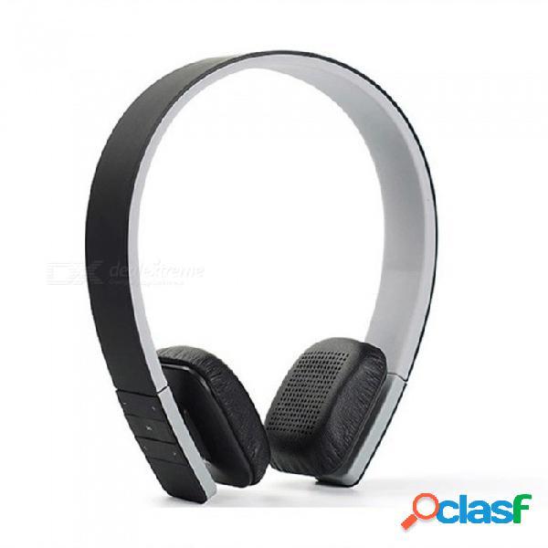 Auriculares bluetooth, auriculares estéreo inalámbricos de alta fidelidad de reducción de ruido con mic para portátil tablet teléfono inteligente rojo
