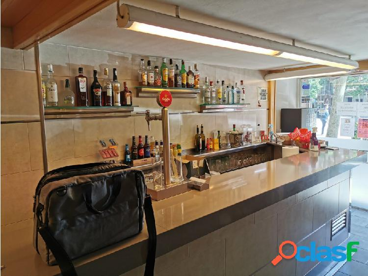 Traspaso bar restaurante