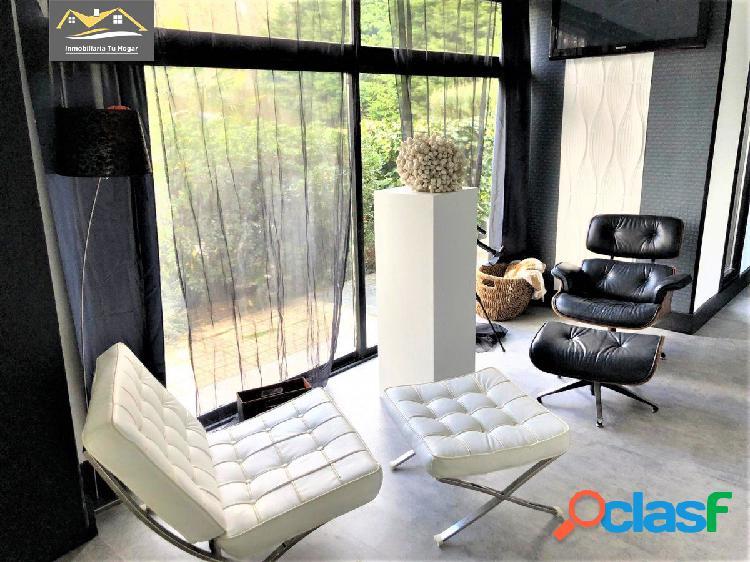 Se vende casa de diseño con parcela de 3.000 m2 a 10 minutos de ourense ref: 3972
