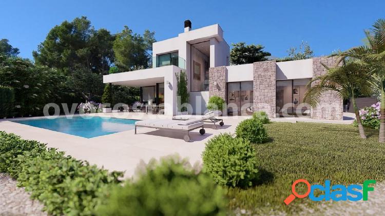 Villa moderna con vistas al mar cerca de la playa de fustera en benissa