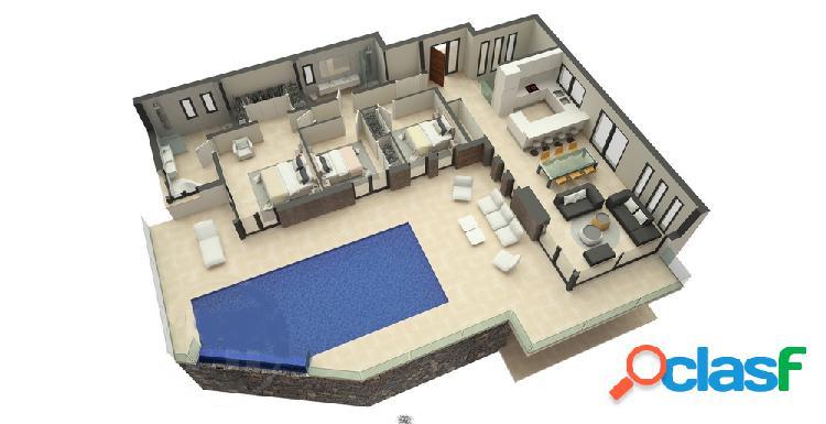 Villa moderna de nueva construcción en venta en Javea con vistas panorámicas 1