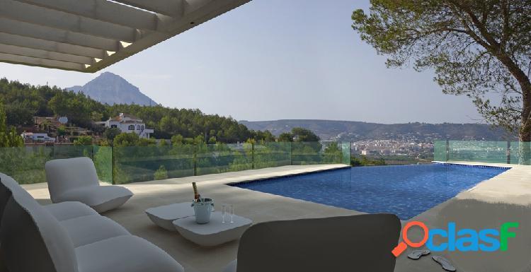Villa moderna de nueva construcción en venta en Javea con vistas panorámicas 3