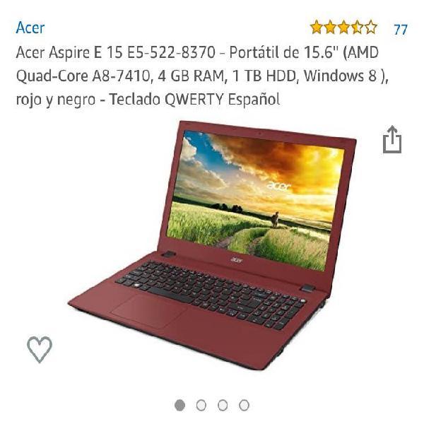 Acer aspire e15 (windows 10)