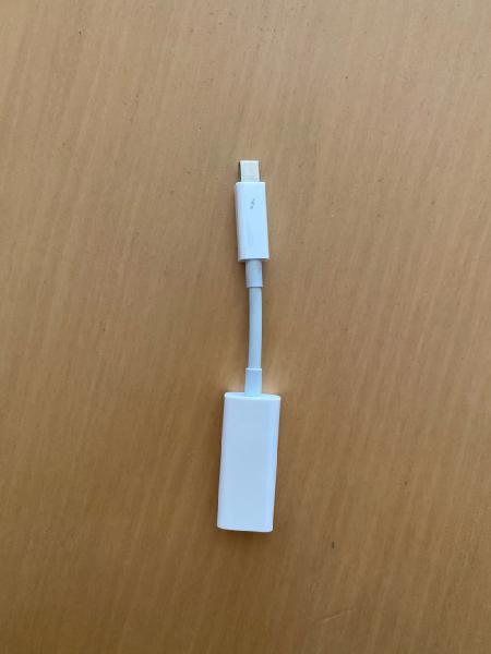 Adaptador apple firewire a thunderbolt