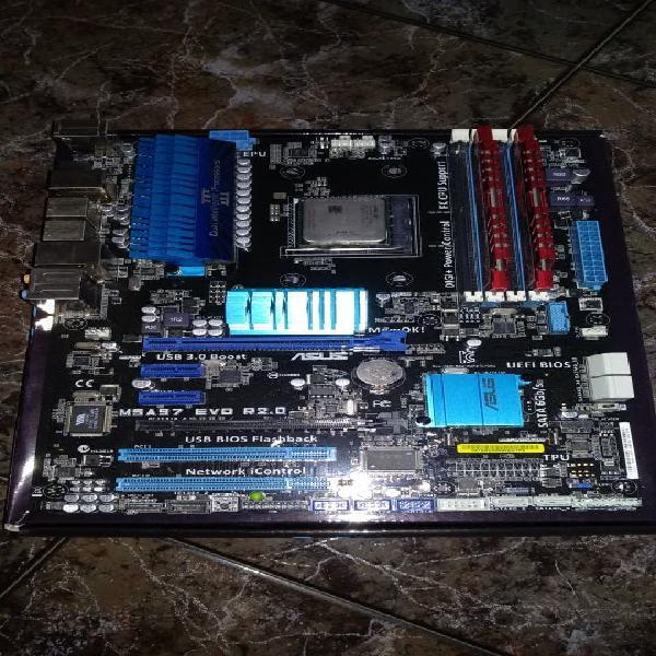Amd fx 8320, placa, ram, disipador y fuente