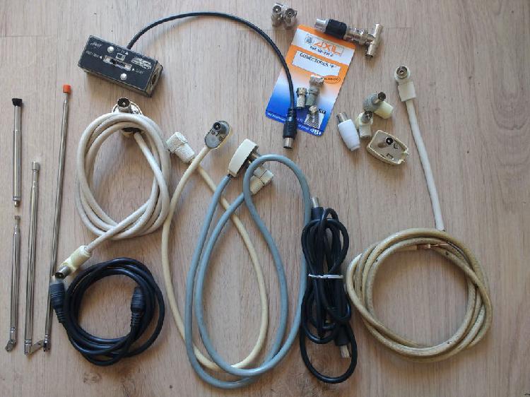conector tipo UHF Conmutador antena 3 salidas CO-301U