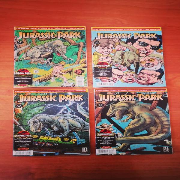 Coleccion jurassic park comic completa