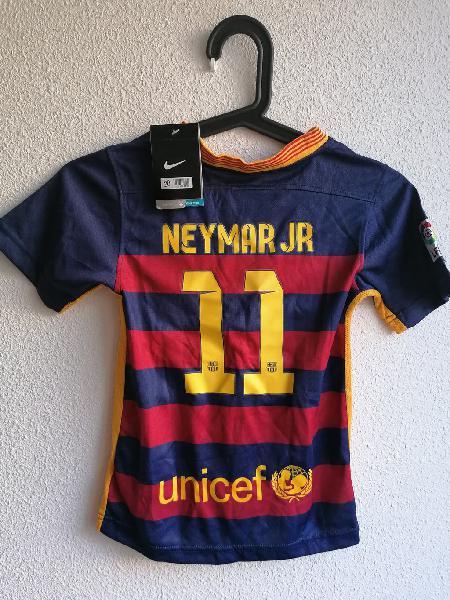 Camiseta niño neymar jr. barcelona 2015 original