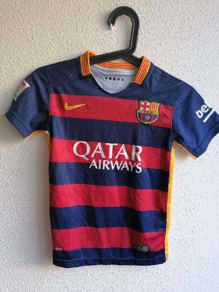 Camiseta niño neymar jr. barcelona 2015 original n