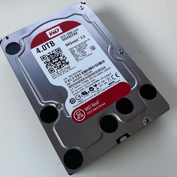 Disco duro sata 4tb wd red nas wd40efrx