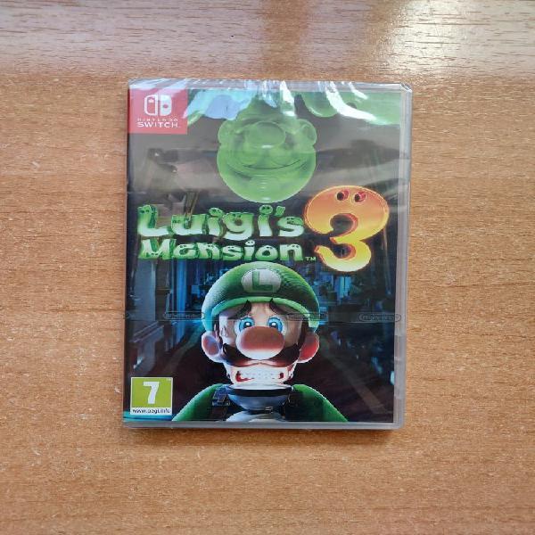 Luigis mansion 3 nintendo switch ¡¡nuevo sin abrir